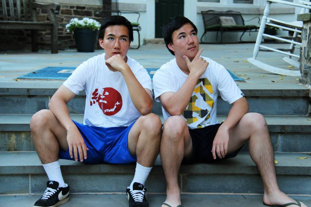 The Shiotani twins.