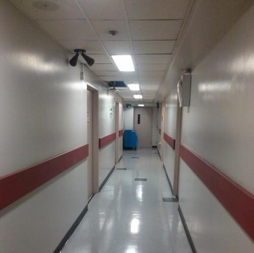 spectrum hallway